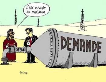 L'offre et la demande dans Economie petrole1